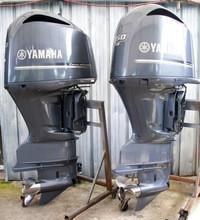 Used Yamaha 350HP 4-Stroke Outboard Motor Engine