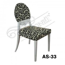 banquet dining room solid birch wood french side chair