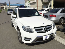 Durable genuine high quality used cars Mercedes-Benz GLK350 export for sale at good price