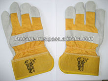 10.5 Semi Split Leather Woking Gloves