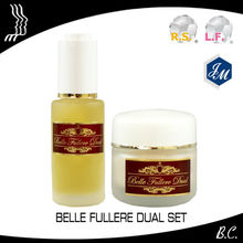 "Best freckle removal cream, Ultimate anti-aging cosmetic ""Belle Fullere Dual Series Set"" in Japan"