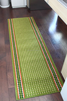 High quality and Beautiful straw mat rug with anti slip