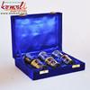 Brass Nautical Sign Taquila Shot Glasses - Brass Artifact In Velvet Gifting Box - Small Shot Wine Glasses