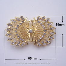 Thailand's leading manufacturer of Luxury Wedding Embellishments + Rhinestone Crystal Clasps