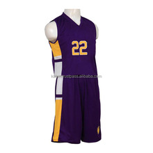 K-BBU-01 100% Polyester Basketball Uniforms