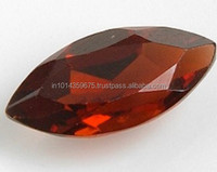 Wholesale Garnet AAA Checkerboard Marquise Cut Excellent CZ gemstone for fashion jewelry