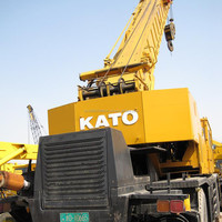 Used rough crane Kato KR45H, cheap rough terrian crane Kato KR45H for sale