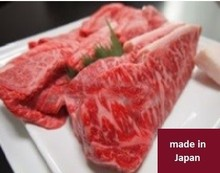 Delicious and luxury beef steak, meat at high cost performance