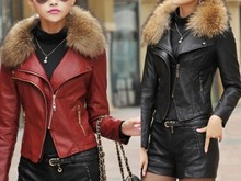 Good Prices Superior Quality Casual Ladies Fashion Biker Leather Jacket