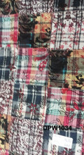 bamboo madras cotton patchwork pure custom made fabric