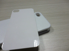2 in 1 Sublimation Blank Plain Hard Plastic Phone Case with Metal Insert