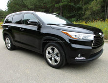 Used Toyota Highlander Limited 8 seats 2014