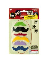 Self-Adhesive Moustache Play Set