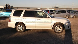Japanese wholesale products 4WD cheap high quality subaru forester used car from japan good condition white color CBA-SG5