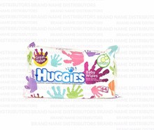 Huggies/Baby Wipes Soft Pack/Everyday Handprint/12/64/ct