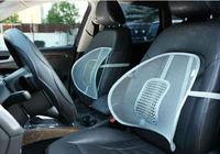 Mesh back support car seats