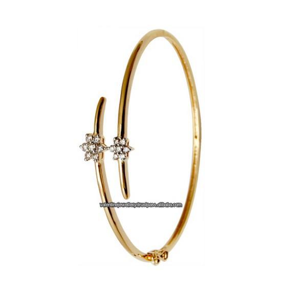 simple girlish design half bangle wholesale buy