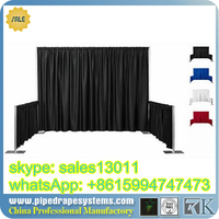 wholesale backdrop pipe and drape for wedding lowest price pipe and drape marquee party wedding tent