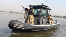 Rigid hull Inflatable Boat for Rivers - Model RIB 8.0 MILITARY RIVERINE - Made in the UAE