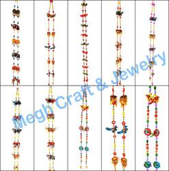 Wholesale Handmade Beaded Animal Wall hanging-Indian Ethnic Gujarati Home decor items-Wedding decoration items