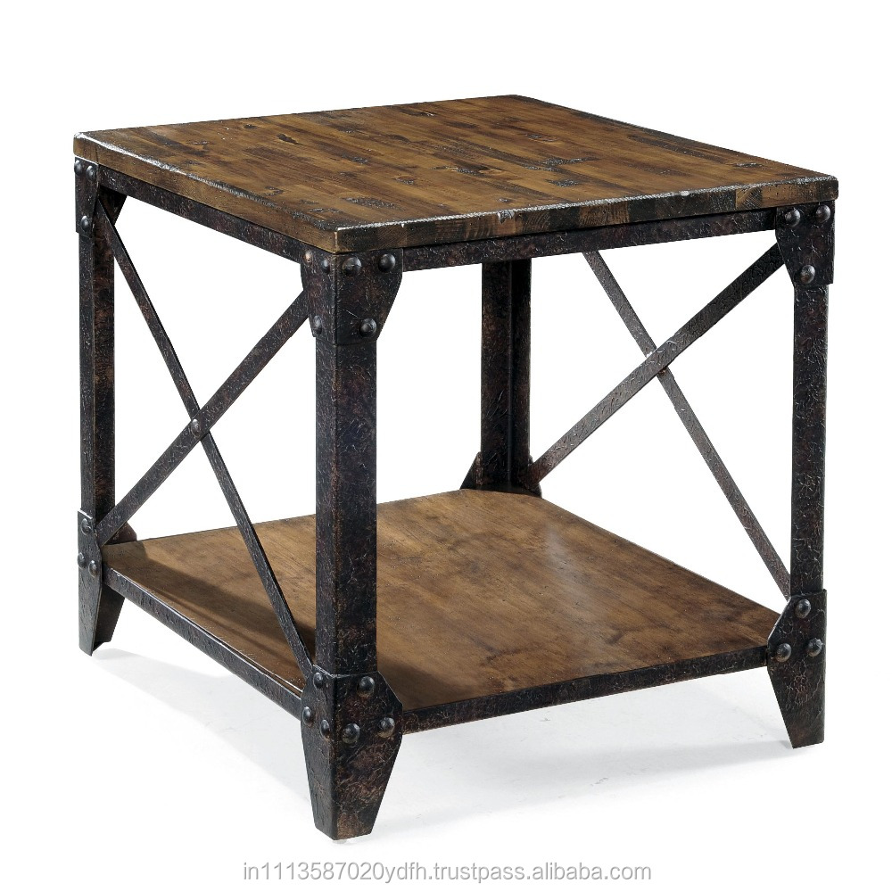 Vintage Iron And Wooden Centre Table Buy Wood
