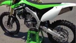 QUALITY USED 2015 KA WA SA KI KX 450F MONSTER ENERGY MOTORCYCLE