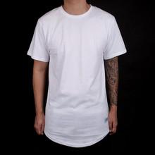 latest fashion long top design unisex oversized tshirt wholesale