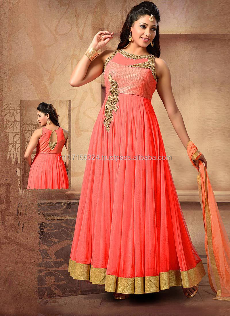 Anarkali Dress Designer Bollywood Salwar Kameez Women