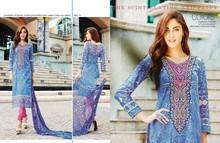 Shalwar kameez 100% Cotton new Indian Pakistani design embroidery women formol party home use ladies dresses