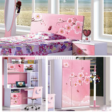 space saving high quality kids bedroom cabinet bed for children 6362
