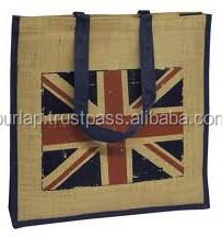 mini jute shopping bags
