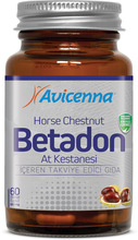Betadon Capsule Herbal Supplement for Hemorrhoids and Varicose Veins Problems Horse Chestnut Extract