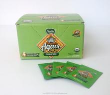 Agave xarope DISPENSER BOX com 100 saquetas de 8GR
