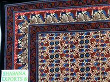 Brown Beautiful Color Hand Block Printed mandala Tapestry/ Duvet Cover Bohomian Hippie Mandala Bedspraed