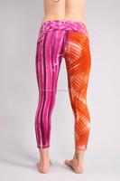 quotes printed leggings, custom text printed leggings, custom brand name leggings