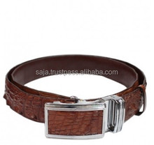 Crocodile leather belt for men SMCRB-002