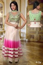 Wedding Wear Stone Work Anarkali Suit
