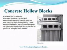 Concrete Hollow Blocks (CHB)