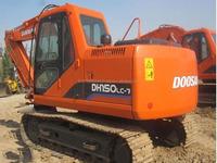used korea made doosan 150-7 hydraulic crawler excavator