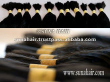 2012 Black curly new product arrival the best and double beautiful quality from indian and brazilian straight hair extension