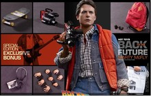 Buy 2 get 1 free Marty McFly 1/6 Figure Hot Toys Back to the Future Sideshow Exclusive