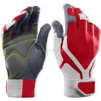 PU Leather Baseball Batting Gloves/ Real and Soft Pittard Leather Baseball Batting Gloves/Adult Batting Gloves