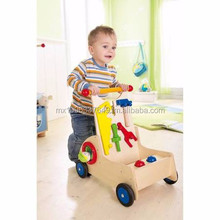 Haba Toys Walker Wagon Carpenter Pixie Push Toy by Baby