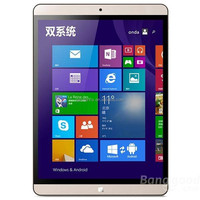 Onda V919 Air 9.7 Inch 2GB RAM 64GB ROM Intel Z3735F FHD 2048x1536 Graphics Gen7 Quad Core Dual OS Win 8.1+Android 4.4 Tablet PC