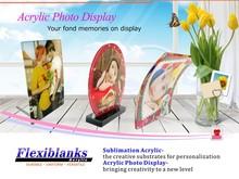 Acrylic Photo Frame Display,Photo panel for Sublimation