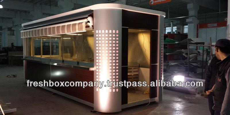 Kiosque alimentaire londres f 2 alimentaires kiosque for Kiosque exterieur