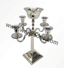 Candelabras and centerpieces for party manufactured by Wajidsons corporation