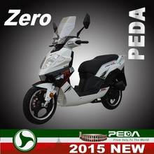 (ZERO) 2015 NEW DOT EPA scooter 50cc 125cc 150cc gas cooler scooter 2 stroke Italian Design 14 inch tire (PEDA MOTOR)