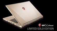 """Fast delivery For MSI GS60 Ghost-444 15.6"""" Ultra Gaming Laptop - Gold Limited Edition"""