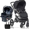 Buy 2 get 1 free New Britax - Affinity Travel System with Bag - Black Black